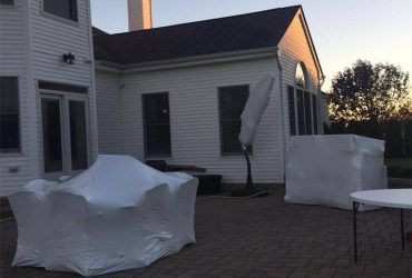 Residential Shrinkwrapping